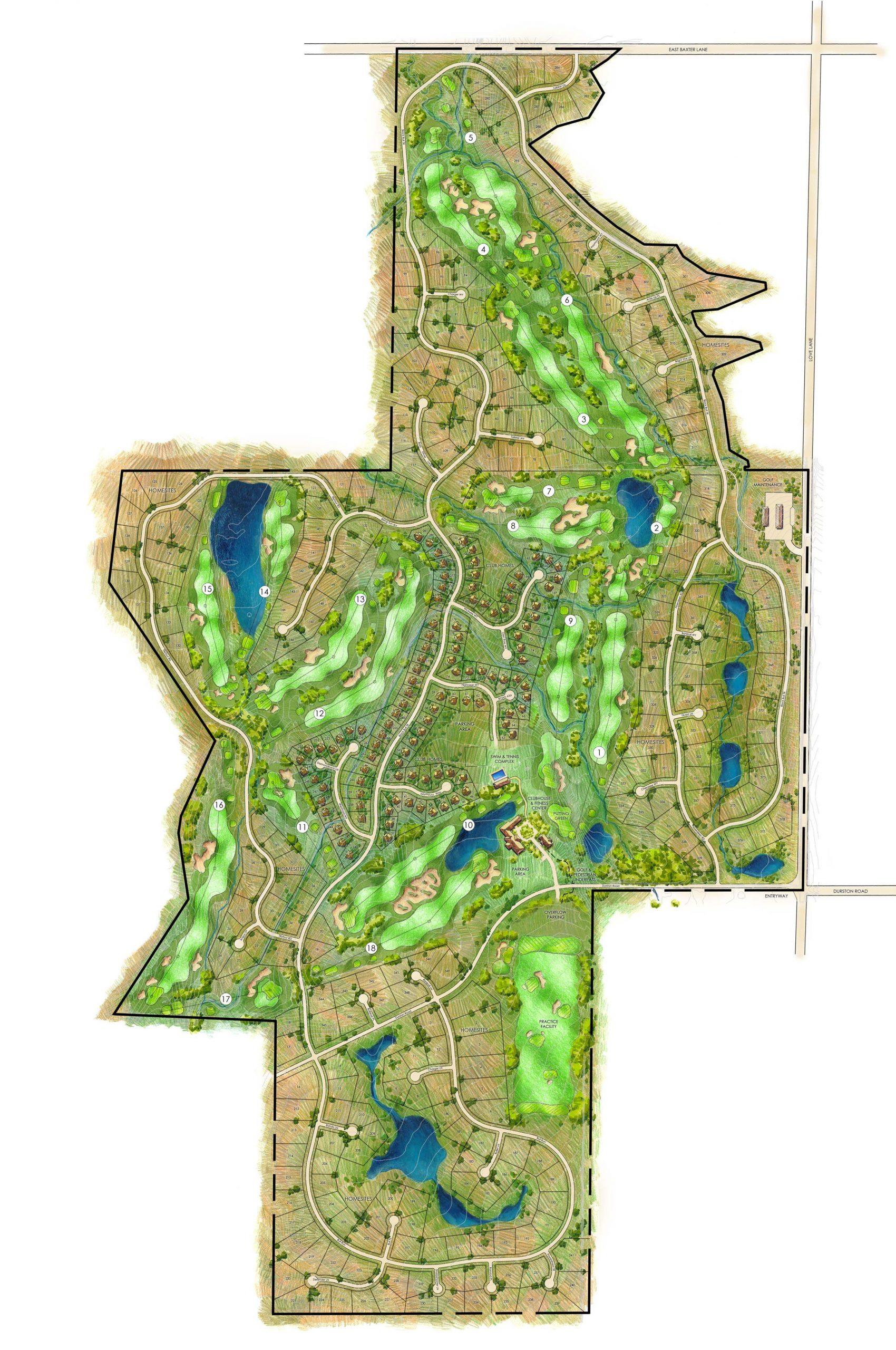 Black Bull Subdivision and Golf Course Development
