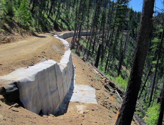 Magruder Road Slide